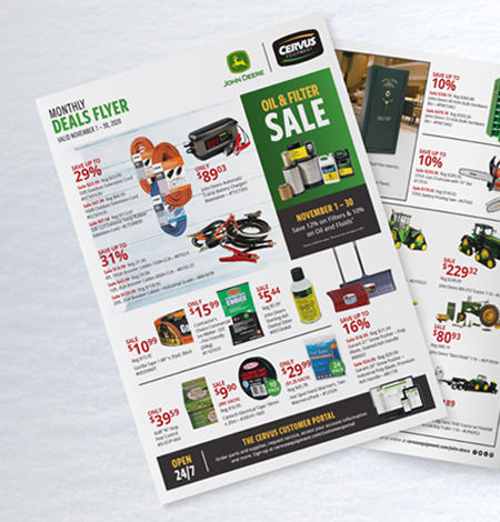 Check out big savings in our November Deals Flyer