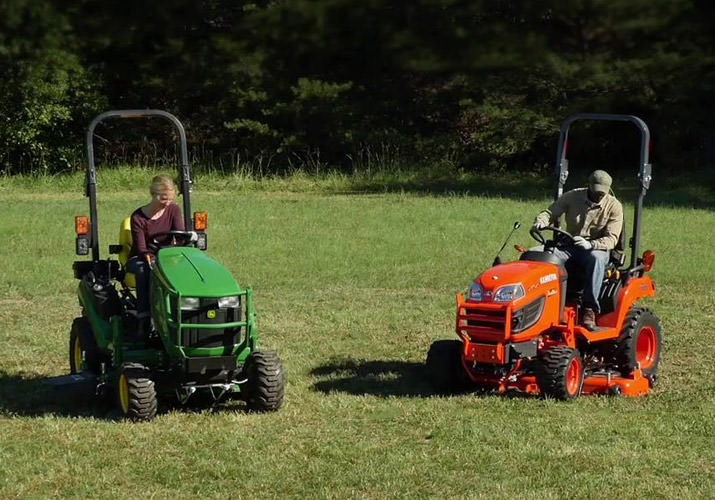 Dare To Compare: John Deere 1 Family vs  Kubota BX Series