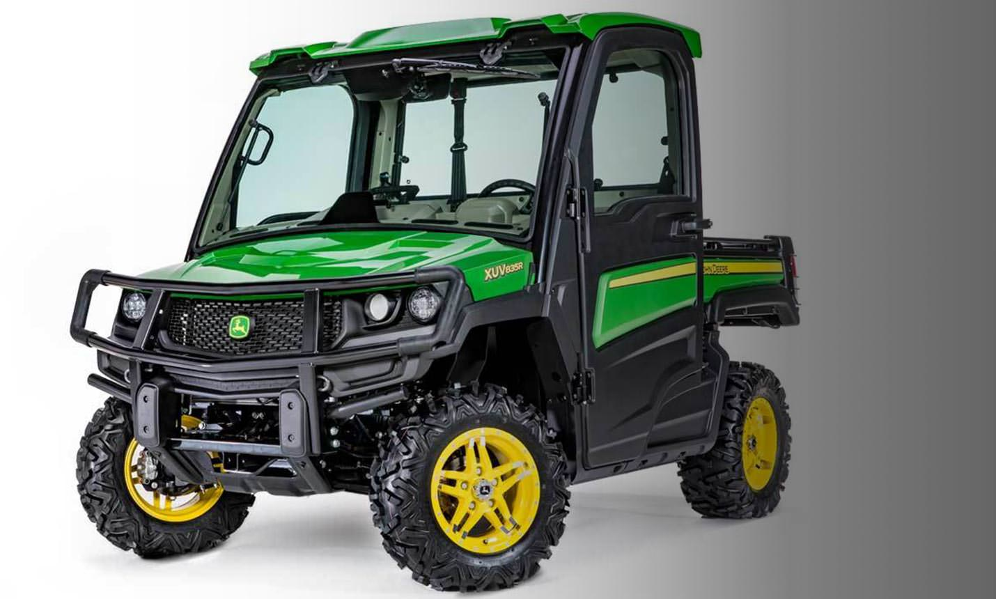 John Deere 835r >> John Deere 2018 Gator XUV835 & XUV865 Models | New John Deere Utility Vehicle | Utility Vehicles