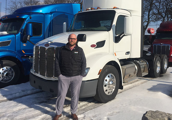 Meet the New Fleet Sales Manager at Cervus Equipment Peterbilt Ontario