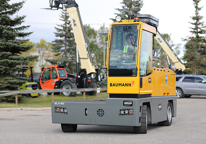3 Key Advantages of the Baumann ELX50 Electric Sideloader