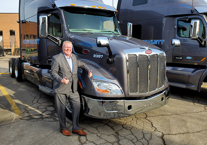 Gary Kelly Wins Popular Vote: Peterbilt Video Contest