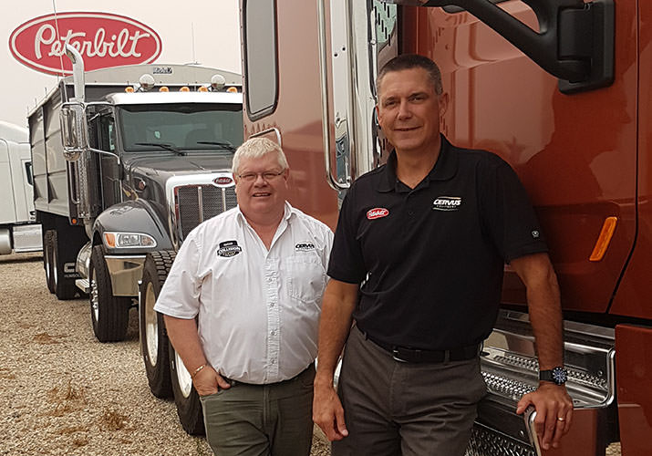 Cervus Peterbilt Saskatoon Recognizes Leaders